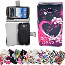 Wallet Flip PU Leather Stand Holster Case Cover For Samsung Galaxy S3 III I9300