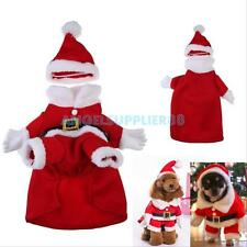 Dog Pet Puppy Puppy Clothes Christmas Party Santa Claus Cosplay Costume Coat