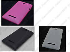 Multi Matting TPU Silicone CASE Cover For Sony Xperia E dual C1605 C1505 C1504