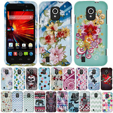 For ZTE Source N9511 Z796C Majesty Elephant Aztec Snap On HARD Case Cover