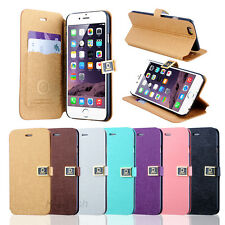 Magnetic Flip Leather Stand Wallet Case Hard Cover For Apple iPhone 6/ 6 Plus