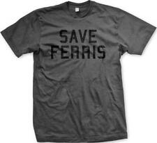 Save Ferris Day Off High School Movie  Bueller Funny Humor Slogans Mens T-shirt