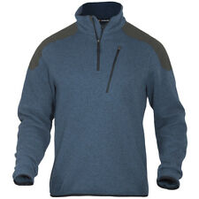 5.11 TACTICAL SWEATER WARM MENS KNIT FLEECE 1/4 ZIP HIKING JUMPER REGATTA BLUE