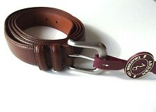 Arden Leather Men's Dress Belt Larger Sizes up to 60 in