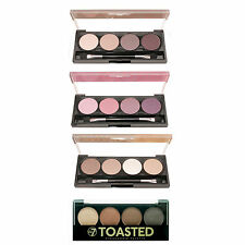 W7 Eyeshadow Palette - Golden Brown, Purple Haze, Naked Nudes & Toasted