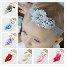 Infant baby girl flower headband newborn hair band kids hair accessories