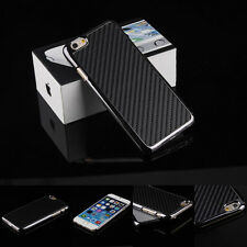 "Luxury Ultra Thin Carbon Fiber Back Case Cover For Apple iPhone 6 4.7""/Plus 5.5"""
