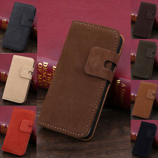 Luxury Soft Synthetic Leather Flip Wallet Case Stand Cover For Apple iPhone 5/5S
