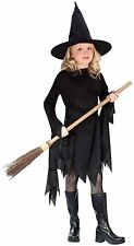 Classic Black Witch Witchy Witch Child Costume Fun World 9721 Brand New!