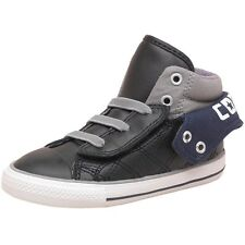 NEW Converse Kids Children CT All Star Padded 2 Leather Black TRAINERS ALL SIZES