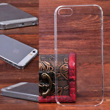 Rigid Plastic Hard Case Cover Ultra Thin Glossy Transparent For Samsung Galaxy