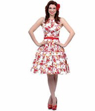 VOODOO VIXEN FAST DRESS 50'S EMO PIN UP TATTOO GOTHIC RETRO TOO rockabilly swing