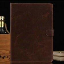 For Samsung Galaxy Tab S 10.5 T800 Glossy Retro PU Leather Case Folio Flip Cover