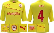 *13 / 14 - PUMA ; CARDIFF CITY AWAY SHIRT SS + PATCHES / RAE 4 = SIZE*