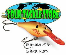 Rapala SR07 Shad Rap Pick Color & Quantity Factory Direct SR 07