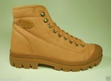 LUGZ Shoes Matrix Military Medium Brown Camel Tan Wheat Boots Canvas Men Size