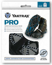 New! Anti-Slip YAKTRAX PRO BLACK - Snow Traction Shoe Boot Cleats Ice Grippers