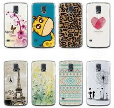 For Samsung Galaxy S5 Hard Phone Case Cover Cute Cartoon Patterned Cases Shell