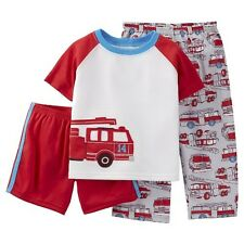 Just One You™ Made by Carter's&#174 Toddler Boys' 3-Piece Mix & Match Fire tr...