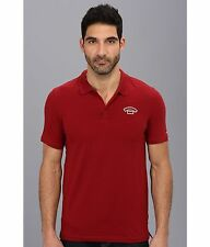 NWT Men's G-Star Raw Teymors S/S Polo Shirt Chateaux Red Size Large Extra L XL