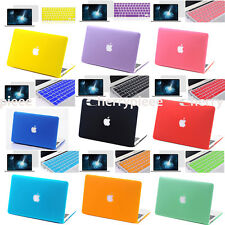 Combo Custom Fit Durable Hard Shell Case Cover for Apple Laptop Computer MacBook