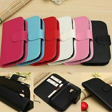 Flip Leather Wallet Case Cover Stand For Samsung Galaxy Trend Plus S7580 S7582