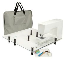 Viking RUBY ULTIMATE Sew Steady Extension Table Perfect QuiltingPack 18X24 24X24