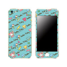 Skin Decal Stickers iPhone 6 Plus Universal Phone Hello Kitty-Candy Bear Pattern
