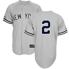 2014 Derek Jeter New York Yankees Grey Road Replica Jersey YOUTH sz (S-XL)