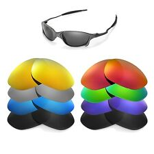 Walleva Replacement Lenses for Oakley X Metal XX Sunglasses - Multiple Options