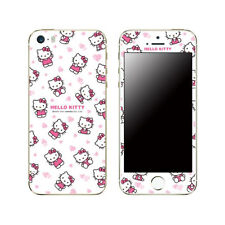 Hello Kitty Skin Decal Sticker iPhone Galaxy Universal Mobile Phone Pink Heart