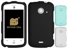 NEW RUBBERIZED HARD SHELL CASE PROTEX COVER FOR ZTE Z667 PRELUDE-2 WHIRL-2 PHONE