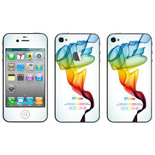 Premium Elaborated POP Skin Decal Sticker For iPhone Series Mobile Rainbow #01