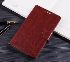 Luxury Leather Case Flip Wallet Cover Pouch For Samsung Galaxy Note N7000 I9220