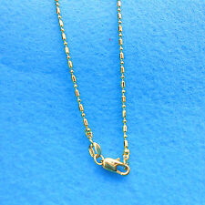 1PCS Jewelry Column Ball Necklace 18K Gold Filled Necklace Chains For Pendants