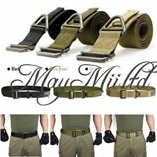 Adjustable Survival Tactical Belt Emergency Rescue Rigger Militaria Military CA