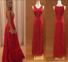 Lace Long Women's Sexy Formal Ball Cocktail Prom Dress Party Evening Gowns - LG