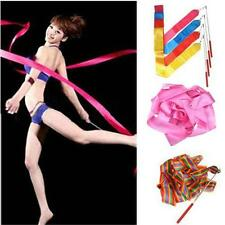 New 4M Dance Ribbon Gym Rhythmic Art Gymnastic Ballet Streamer Twirling Rod