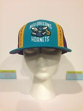 NBA NEW ORLEANS HORNETS RETRO REEBOK FITTED CAP