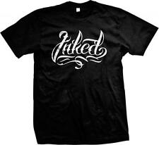 Inked! Ink Tattooes Designs -Great Shirt for that Tattoo Lover! Mens T-shirt