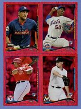 2014 TOPPS UPDATE RED HOT FOIL SINGLE U PICK COMPLETE YUR SET US-241 THRU US-300