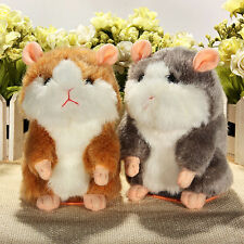 Cute Mimicry Pet Speak Talking Sound Record Electronic Hamster Plush Toy Gift
