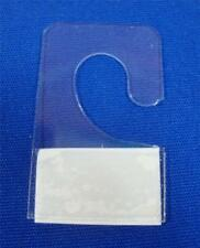 "Hook Style Hang Tab with Adhesive Hook Style (3/8"") Merchandise Price Tags"