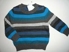 NWT 12-18 5T/Years Holiday Crazy Stripe Sweater Boy's New