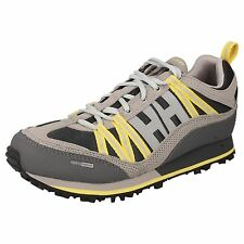 HELLY HANSEN 'W TRAIL CUTTER 4' Ladies Grey/Yellow Colour Lace Up TRail Trainers