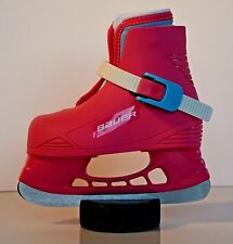 Bauer Lil' Angel Pink Ice Skates Youth Sizes Only