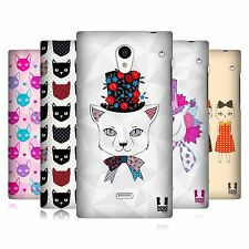 HEAD CASE DESIGNS PRINTED CATS SERIES 1 CASE FOR SHARP AQUOS CRYSTAL 305SH LTE