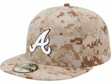 Official MLB 2013 Atlanta Braves Memorial Day New Era 59FIFTY Hat Fitted