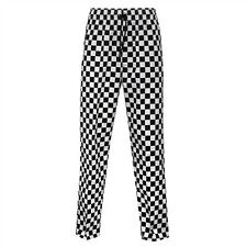 BLACK AND WHITE CHEF TROUSER