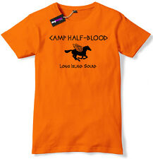 Camp Half-Blood Long Island Sound T-Shirt Mens Orange